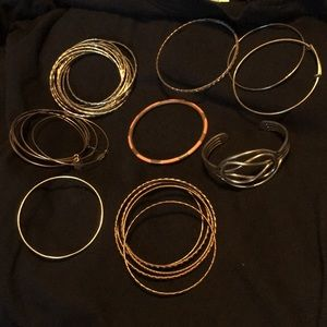 Jewelry - Bangle bracelets- assorted collection